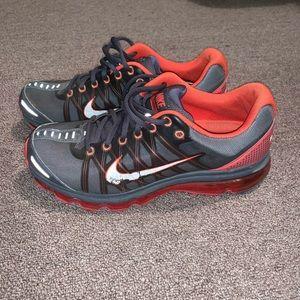 Nike Shoes - Dark orange and gray nikes